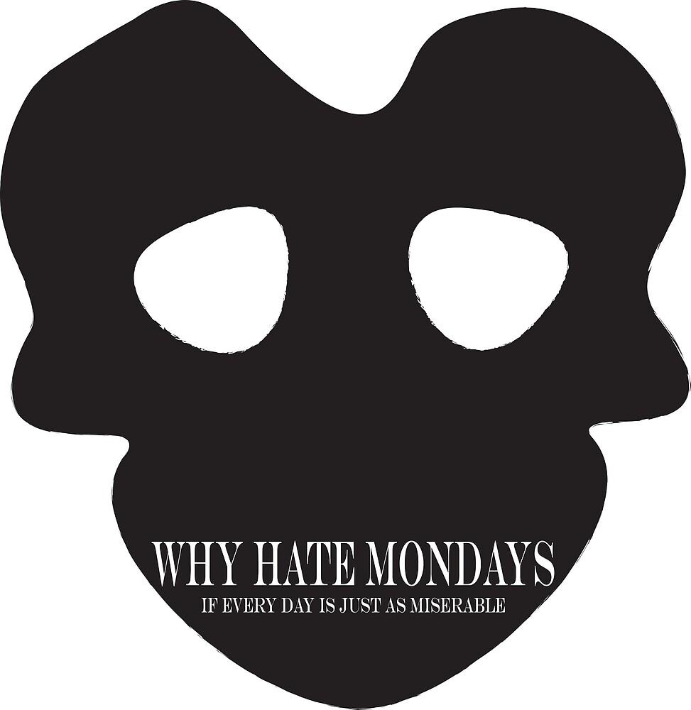 Skull-Hate Mondays by susanask