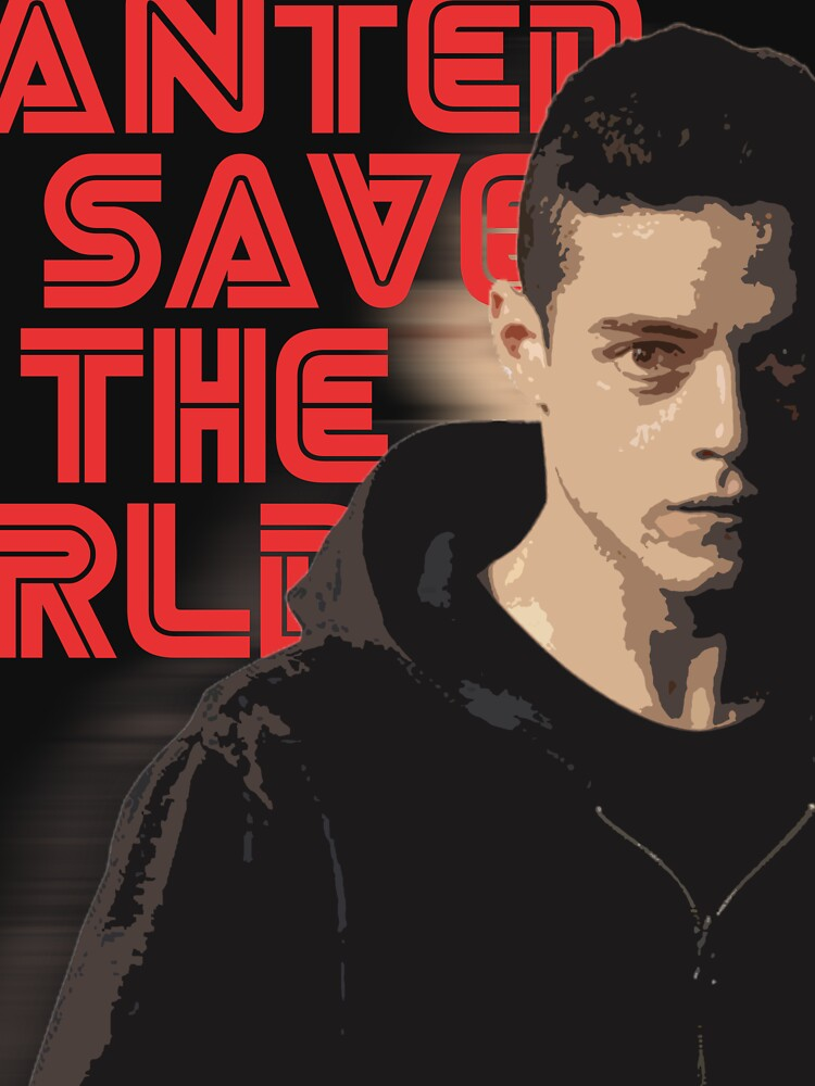 MR.Robot Save The World by shdhewa