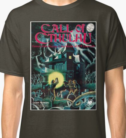 Call of Cthulhu 1st Edition Cover Classic T-Shirt