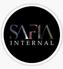 SAFIA Internal Sticker