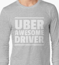 Uber Awesome Driver T-Shirt