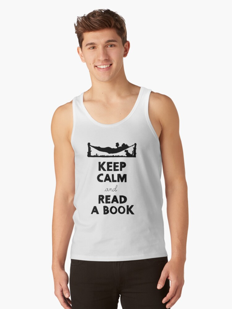 KEEP CALM AND READ A BOOK by ECA JT