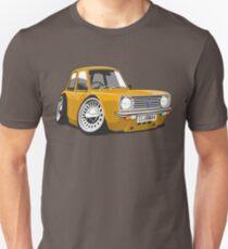 Mini Clubman caricature orange T-Shirt