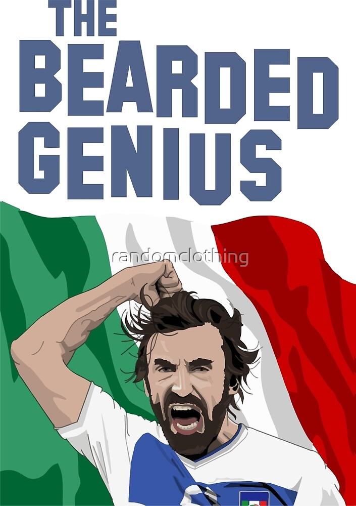 The Bearded Genius by randomclothing