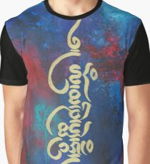 Om Mani Padme Hum Graphic T-Shirt