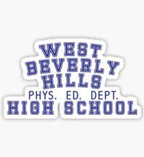 West Beverly High School Sticker