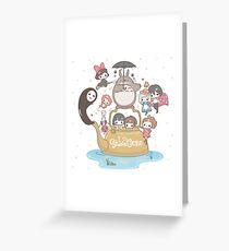 studio ghibli Greeting Card