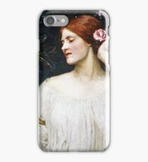 John William Waterhouse - Vanity  iPhone Case/Skin