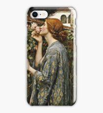 John William Waterhouse - The Soul Of The Rose  iPhone Case/Skin