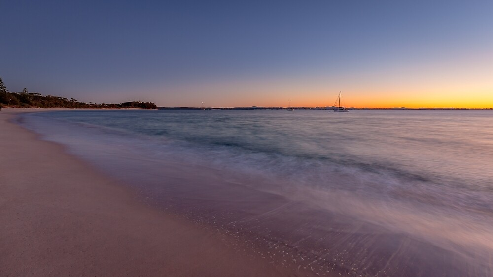 Port Stephens Sunrise by Russell Charters