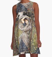 John William Waterhouse - Boreas  A-Line Dress