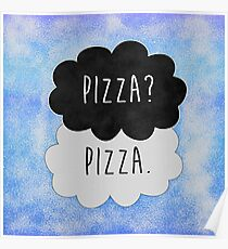 Pizza? Pizza. Poster