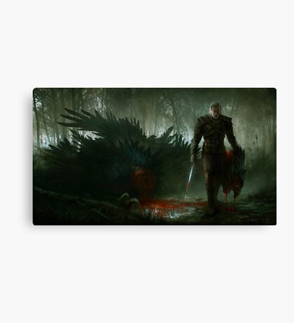 Witcher 3 Canvas Print