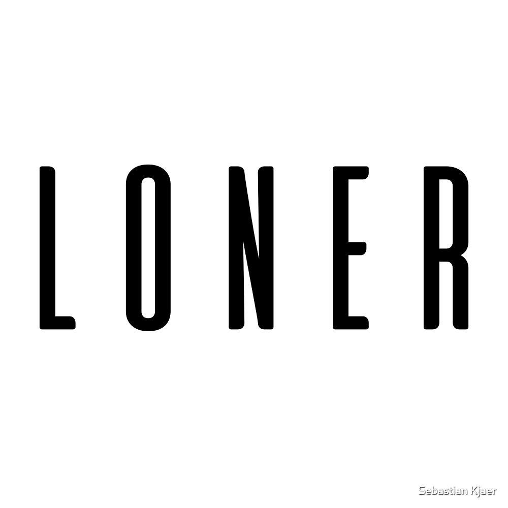 Loner by Sebastian Kjaer