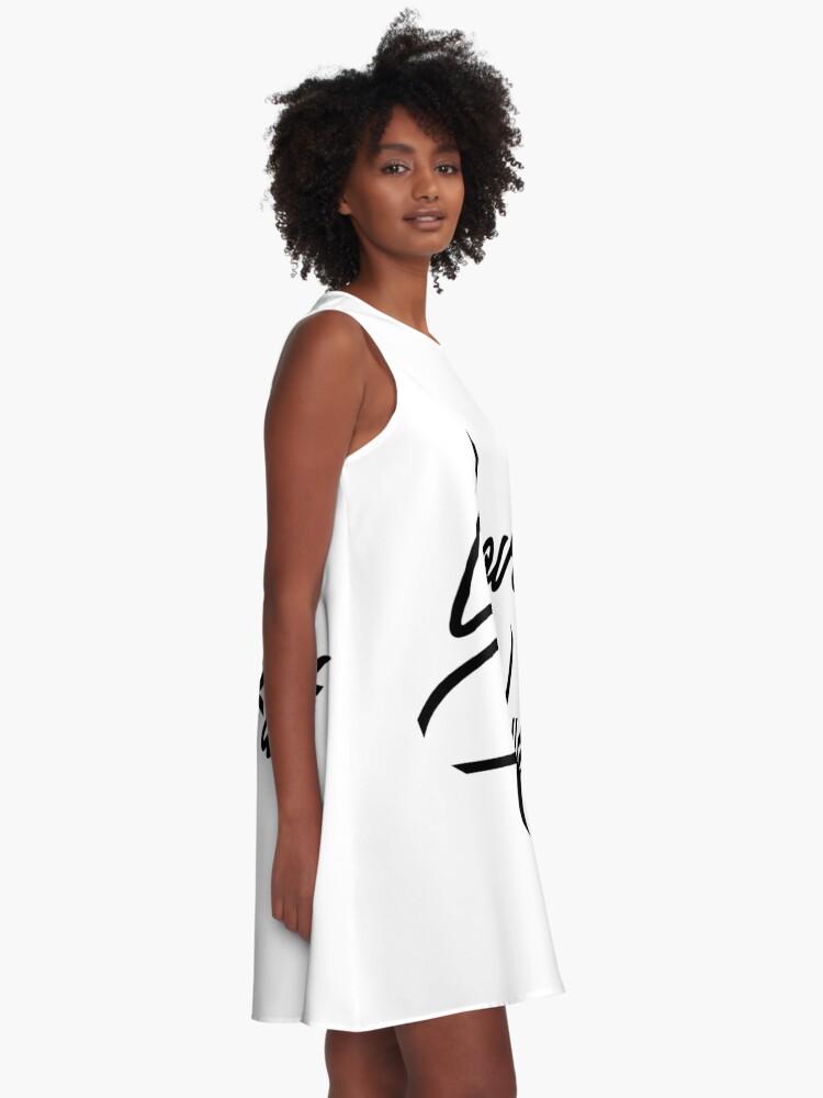Alternate view of Love Hurt A-Line Dress
