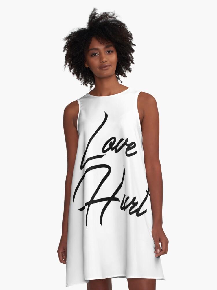 Love Hurt A-Line Dress Front