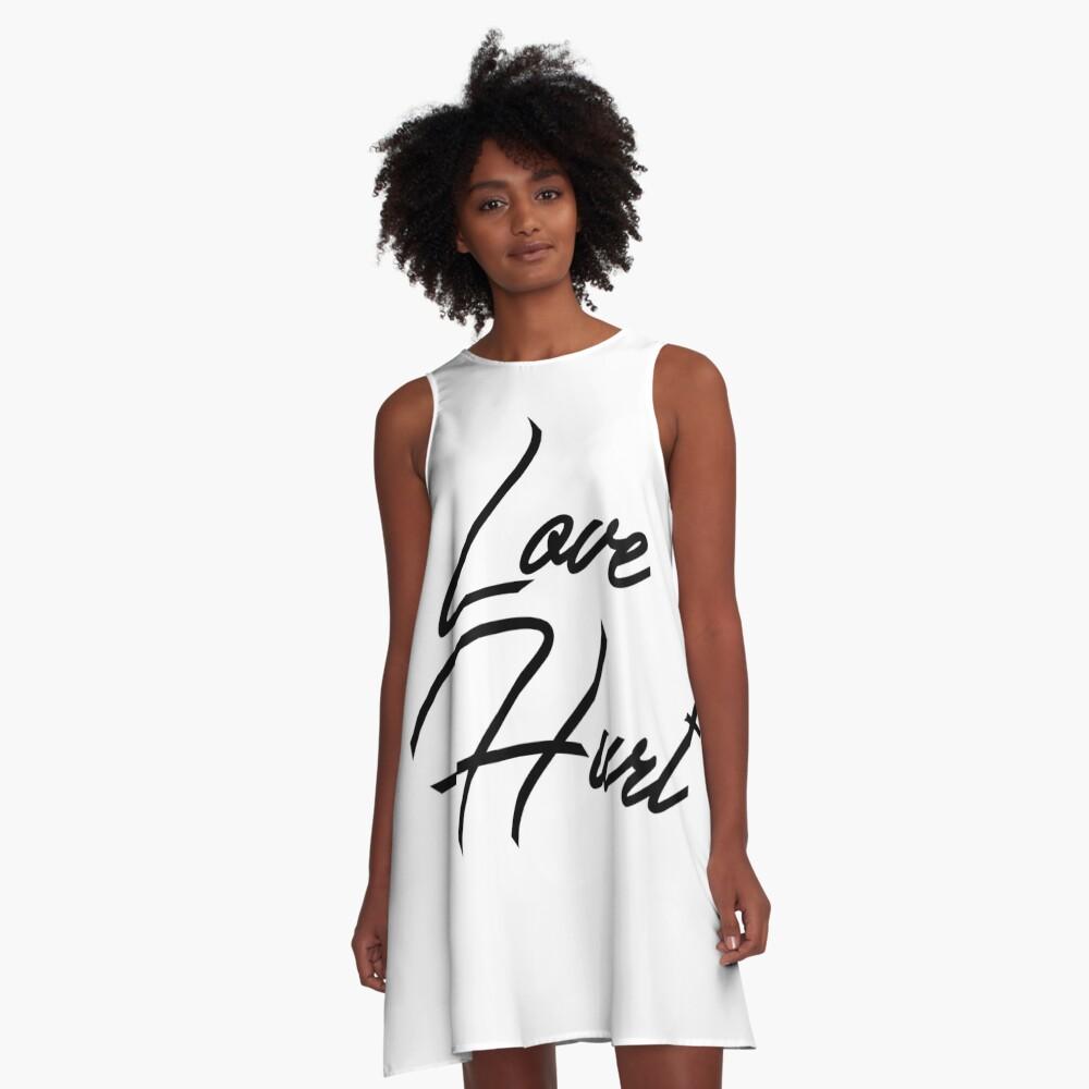 Love Hurt A-Line Dress