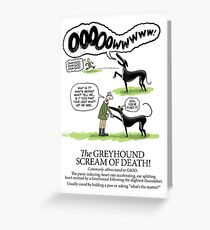 Greyhound Glossary: GSOD Greeting Card