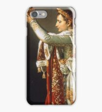 Jacques-Louis David - Portrait of Napoleon from David s Coronation of the Emperor and the Empress iPhone Case/Skin