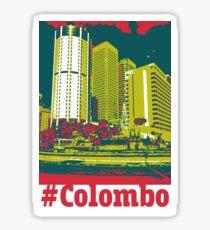 Colombo, Sri Lanka Sticker