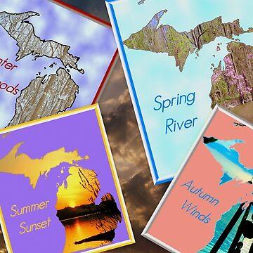 Great Lakes Seasons by jhell2
