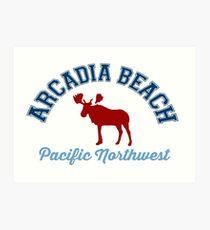 Arcadia Beach. Art Print