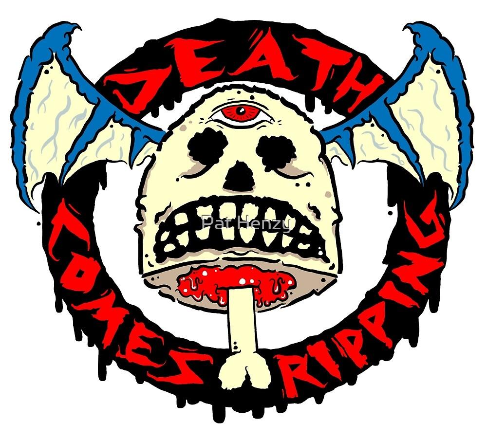 Punk Rock Skull by Pat Henzy