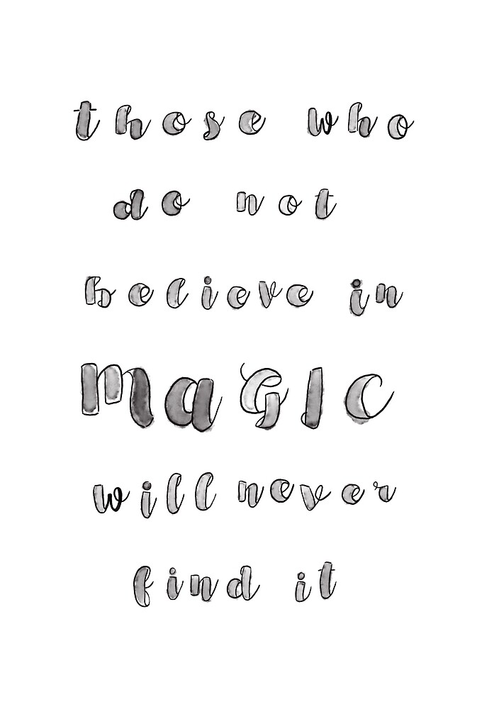 Magic - Roald Dahl by madasahatterme