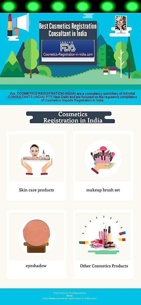 Best Consultant for Cosmetics Registration in India by Cosmeticsregist