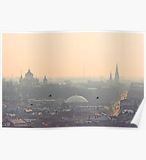 Fog over Lviv Poster