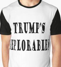 Trump's deplorables Graphic T-Shirt