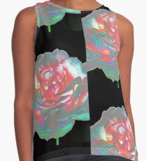 Rose petals - abstract Contrast Tank
