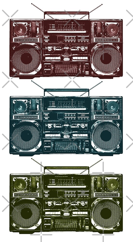 Boombox by monsterplanet