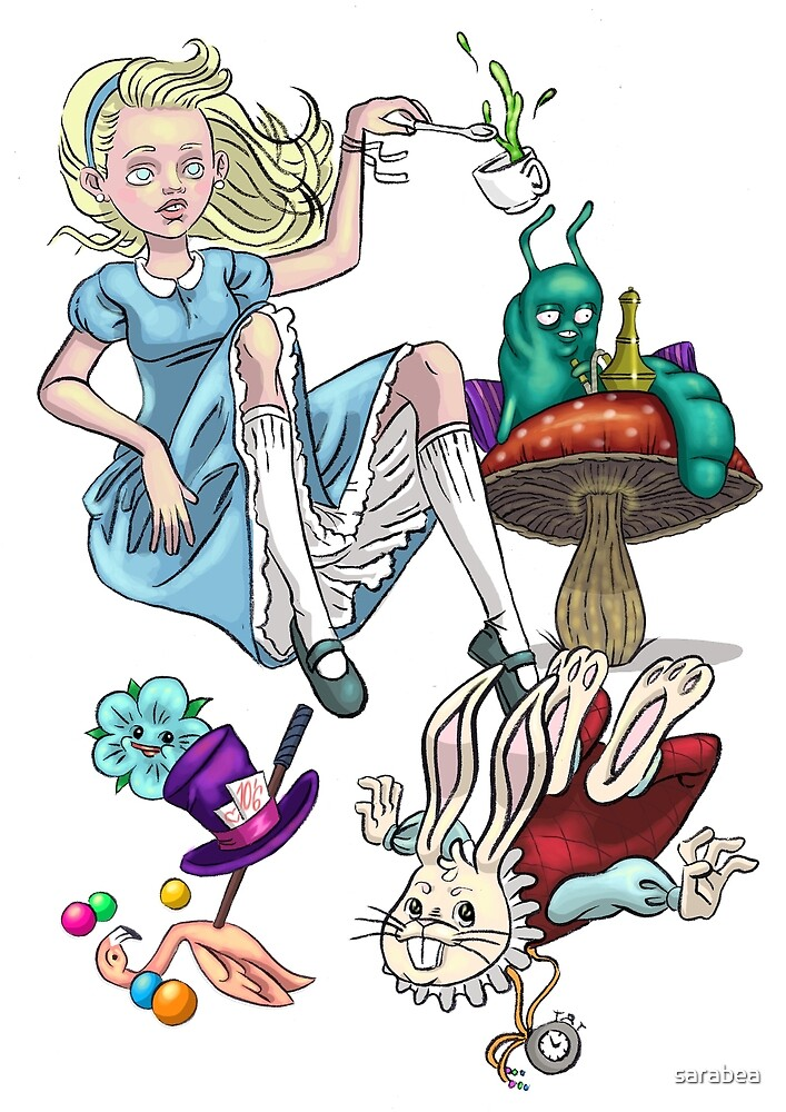 alice in wonderland by sarabea