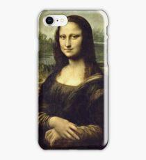 Leonardo Da Vinci - La Joconde, Portrait De Monna Lisa  iPhone Case/Skin