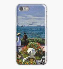 Claude Monet - Jardin A Sainte Adresse  iPhone Case/Skin