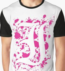Negative Space 'I' Graphic T-Shirt
