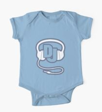 DJ-Kopf-Set einfache Grafik Baby Body Kurzarm