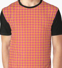 piet de poule or Houndstooth Graphic T-Shirt