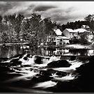 Chocorua Farmhouse Mindscape by Wayne King