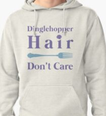 Mermaid Dinglehopper Hair Dont Care Pullover Hoodie