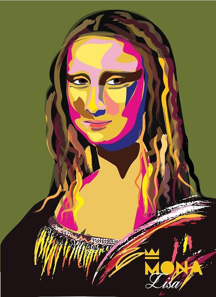 Mona Lisa - La Joconde by AnastasiaNensy