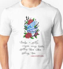 Pretty Teacups Sticker Unisex T-Shirt