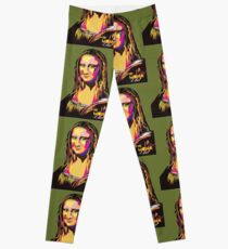 Mona Lisa - La Joconde Leggings