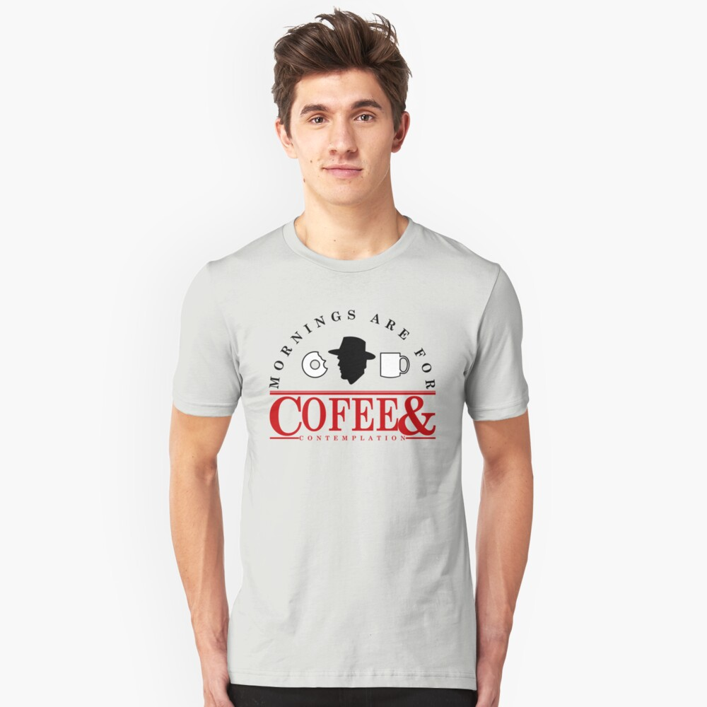 Coffee And Contemplation Unisex T-Shirt Front