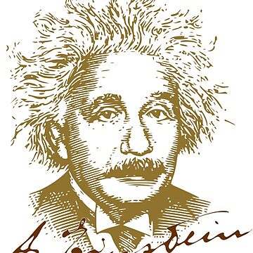 Albert Einstein visionary in modern physics by HomeTimeArt