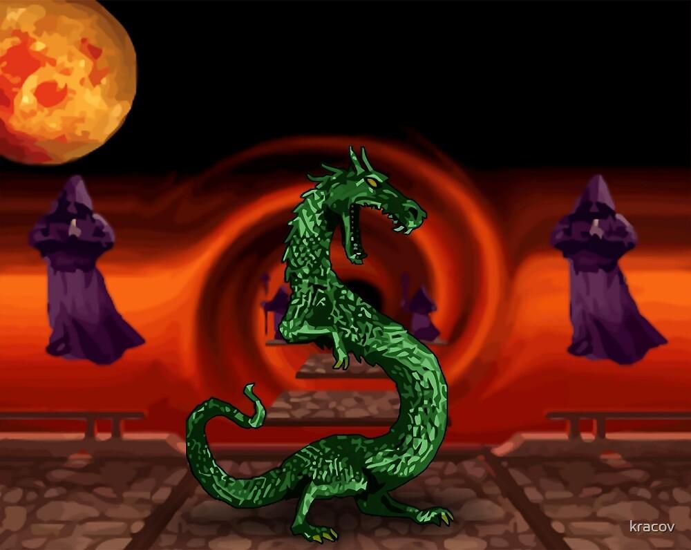 Mortal Kombat Dragon by kracov