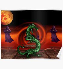 Mortal Kombat Dragon Poster