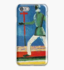 Kazemir Malevich - Running Man iPhone Case/Skin