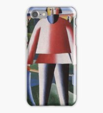 Kazemir Malevich - Haymaking 1929 iPhone Case/Skin